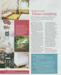 Glam Camping article