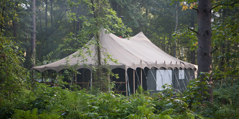 Woodland Tent Outside View